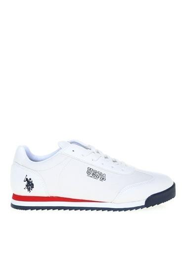 U.S. Polo Assn. U.S. Polo Assn. Erkek Beyaz Sneaker Beyaz